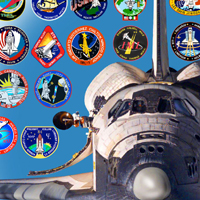 The Shuttle Patch design