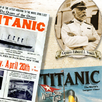 One of our designs for the Titanic exhibit in Branson, MO